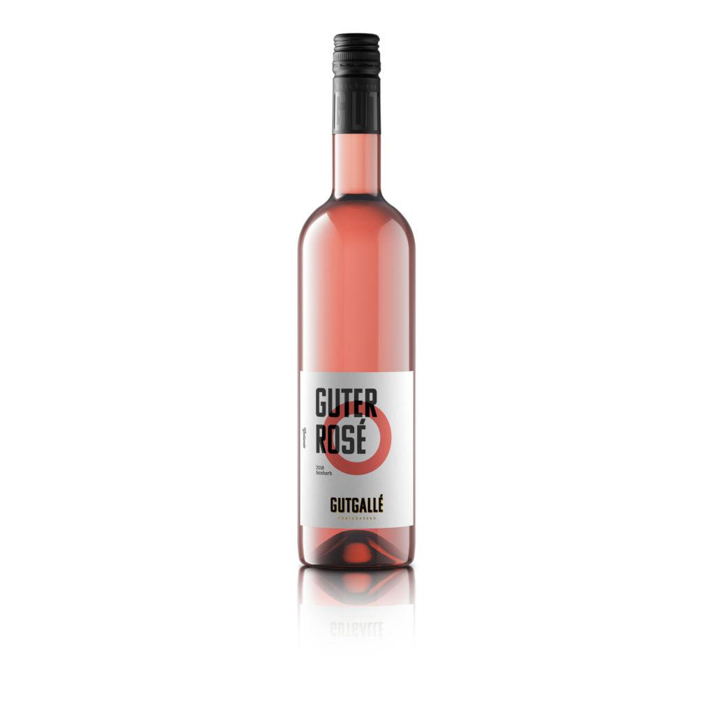 3D Produktvisualisierung einer Roseflasche